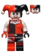 Minifig No: sh199  Name: Harley Quinn - White Arms (76035)