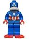 Minifig No: sh214  Name: Scuba Captain America