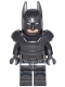 Minifig No: sh217a  Name: Batman - Armored, without Cape (76044)