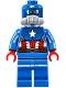 Minifig No: sh228  Name: Captain America, Space Captain America