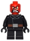 Minifig No: sh251  Name: Red Skull - Short Legs