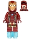 Minifig No: sh254  Name: Iron Man Mark 46 Armor - Partial Circle on Chest (76051)
