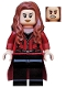 Minifig No: sh256  Name: Scarlet Witch - Fabric Skirt (76051)