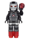 Minifig No: sh258  Name: War Machine - with Shooter (76051)