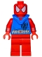 Minifig No: sh274  Name: Scarlet Spider