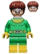 Minifig No: sh284  Name: Dr. Octopus / Doc Ock, Bright Green and Yellow Suit