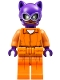 Minifig No: sh338  Name: Catwoman - Prison Jumpsuit and Belt (70912)