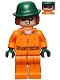 Minifig No: sh344  Name: The Riddler - Prison Jumpsuit