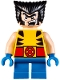 Minifig No: sh364  Name: Wolverine - Short Legs