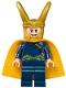 Minifig No: sh411  Name: Loki, Dark Blue Outfit