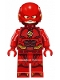 Minifig No: sh438  Name: The Flash - Detailed Print (76086)