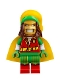 Minifig No: sh450  Name: Batman, Reggae Man Batsuit