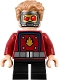 Minifig No: sh474  Name: Star-Lord - Short Legs