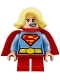 Minifig No: sh483  Name: Supergirl - Short Legs