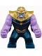 Minifig No: sh504  Name: Big Figure - Thanos with Medium Lavender Arms