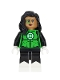 Minifig No: sh527  Name: Green Lantern Jessica Cruz