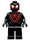 Minifig No: sh540  Name: Spider-Man (Miles Morales) - Black Hands