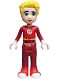 Minifig No: shg015  Name: The Flash - Unmasked