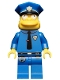 Minifig No: sim021  Name: Chief Wiggum - Minifig only Entry
