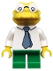 Minifig No: sim036  Name: Hans Moleman - Minifigure only Entry