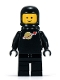 Minifig No: sp003  Name: Classic Space - Black with Airtanks