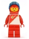 Minifig No: sp015  Name: Futuron - Red