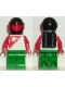 Minifig No: sp056  Name: Futuron - Red/Green with Black Helmet