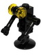 Minifig No: sp084  Name: Futuron Droid, Black with Trans-Yellow Eyes