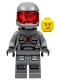 Minifig No: sp119  Name: Space Police 3 Officer 15 (5983)