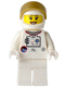 Minifig No: sp123  Name: Shuttle Astronaut - Female, Smile with Teeth (10231)