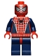 Minifig No: spd028  Name: Spider-Man 3 - Dark Blue Arms / Legs