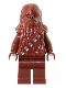 Minifig No: sw0011a  Name: Chewbacca (Reddish Brown)