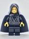Minifig No: sw0044  Name: Luke Skywalker with Black Hood, Black Cape