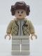 Minifig No: sw0113a  Name: Princess Leia (Hoth Outfit, Smooth Bun Hair)
