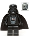 Minifig No: sw0123  Name: Darth Vader (Imperial Inspection)