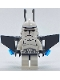 Minifig No: sw0127  Name: Clone Trooper Episode 3 with Jet Pack on Back, 'Aerial Trooper'