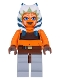 Minifig No: sw0192  Name: Ahsoka Tano (Padawan) - Tube Top and Belt