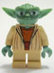 Minifig No: sw0219  Name: Yoda (Clone Wars, Gray Hair)