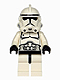Minifig No: sw0272  Name: Clone Trooper Episode 3 (Dotted Mouth Pattern)