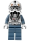 Minifig No: sw0281  Name: Clone Pilot, Episode 3 with Open Helmet and White Head
