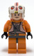 Minifig No: sw0295  Name: Luke Skywalker (Pilot, Light Flesh) - Detailed Torso and Helmet