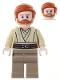 Minifig No: sw0362  Name: Obi-Wan Kenobi, Dark Tan Legs