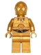 Minifig No: sw0365  Name: C-3PO - Colorful Wires Pattern