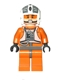 Minifig No: sw0369  Name: Rebel Pilot Y-wing (Dutch Vander, Gold Leader)