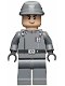 Minifig No: sw0376  Name: Imperial Officer (Captain / Commandant / Commander) - Two Code Cylinders, Cavalry Kepi