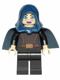 Minifig No: sw0379  Name: Barriss Offee - Dark Blue Cape and Hood