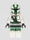 Minifig No: sw0380  Name: Clone Commander Gree