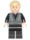 Minifig No: sw0395  Name: Luke Skywalker (Dark Bluish Gray Jedi Robe)