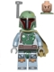 Minifig No: sw0396  Name: Boba Fett - Head Beard Stubble
