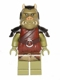 Minifig No: sw0405  Name: Gamorrean Guard (Olive Green, Detailed)